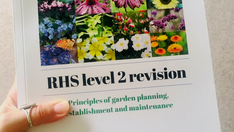 RHS revision book cover (c) Rianne Mason